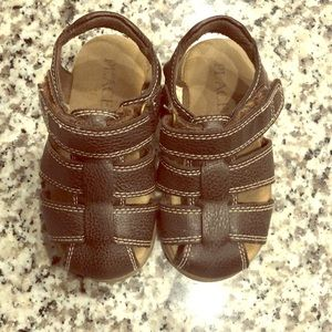Children's Place Brown Leather Sandals